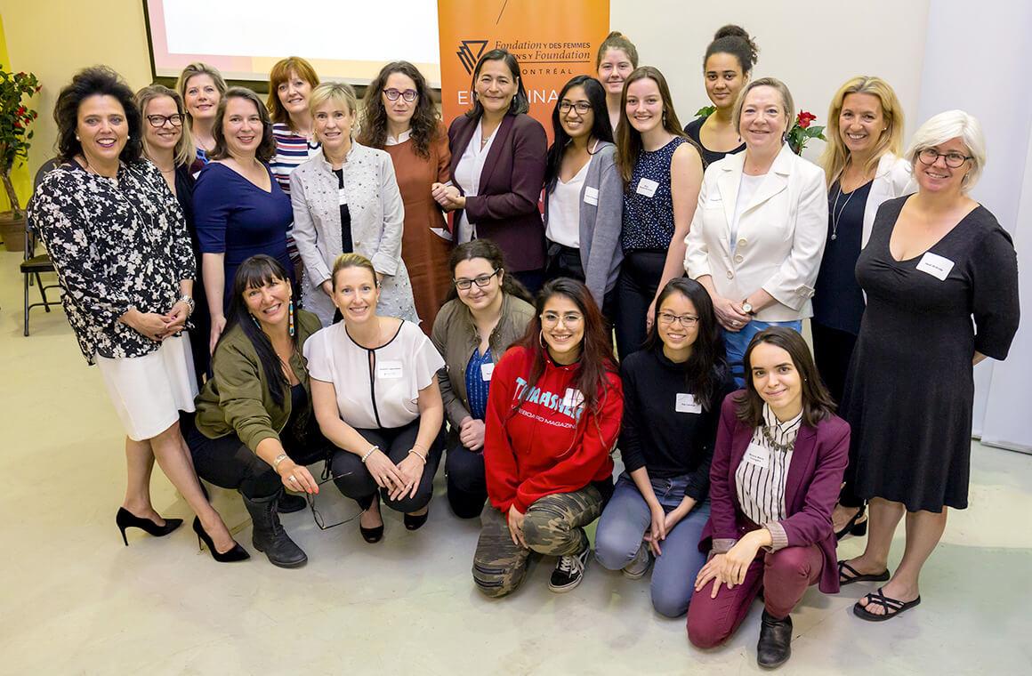 Lauréates dévoilement Prix Femmes de mérite
