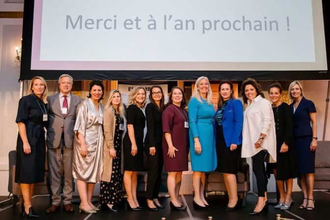 Les coprésidentes d'honneur et les membres du comité d'honneur du 26e Prix Femmes de mérite remercient les invités