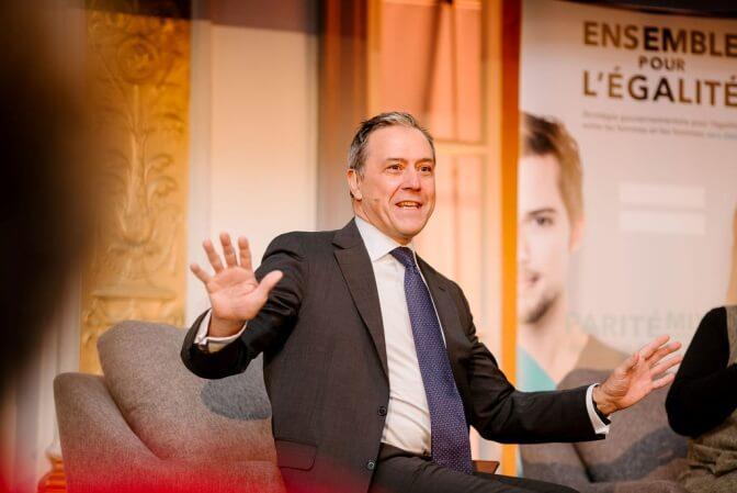Robert Dumas, président et chef de la direction, Financière Sun Life, Québec, et animateur de l'entretien avec Marcèle Lamarche