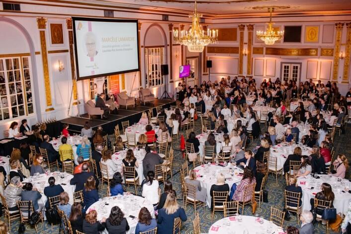 Les convives du 26e Prix Femmes de mérite qui a eu lieu le 26 septembre dernier au Windsor à Montréal